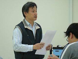 網路課輔計畫推手文藻學院蘇彥衍主任報告《攝影/賴約翰》