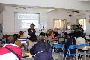 大傳部部長李再祥為了強化運用本資訊網,預訂明年度舉辦以兩個區聯禱網來辦理研習